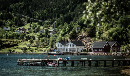 Engjane, Vikøyri, Sogn og Fjordane Fylke, Norge