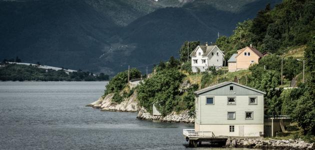 RV55, Leikanger, Sogn og Fjordane Fylke, Norge