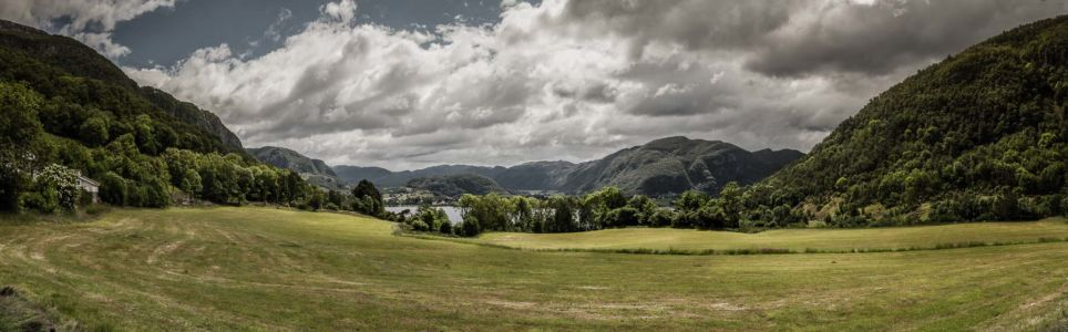 RV13, Årdal, Rogaland Fylke, Norge
