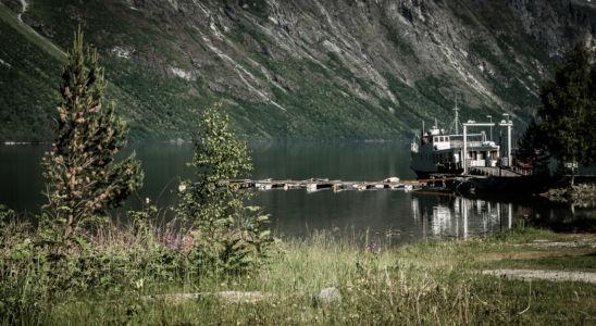 FV191, Åndalsnes, Møre og Romsdal Fylke, Norge