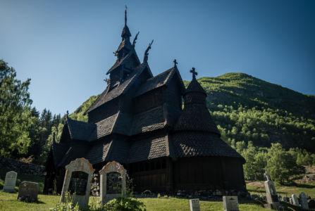 Husum, Lærdalsøyri, Sogn og Fjordane Fylke, Norge