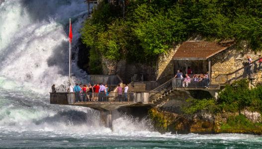 Laufen, Neuhausen am Rheinfall, Kanton Schaffhausen, Schweiz