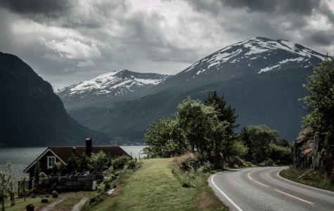 Trollstigvegen, RV63, Linge, Møre og Romsdal Fylke, Norge
