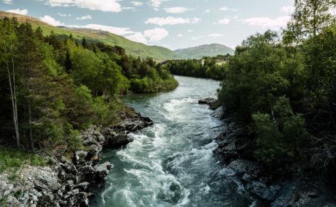 Driva, Oppdal, Sør-Trøndelag Fylke, Norge
