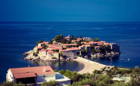 Sveti Stefan, , , Montenegro