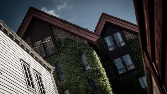 Bugården, Bergenhus, Bergen, Hordaland Fylke, Norge