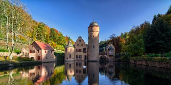 Neudorf, Mespelbrunn, Bayern, Deutschland