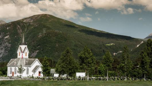 FV191, Eidsvåg, Møre og Romsdal Fylke, Norge