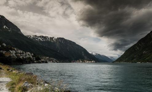RV551, Sunndal, Hordaland Fylke, Norge