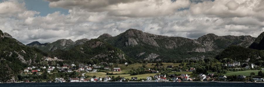Høllesli, Forsand, Rogaland Fylke, Norge