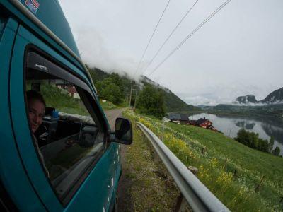 FV319, Losna, Oppland Fylke, Norge