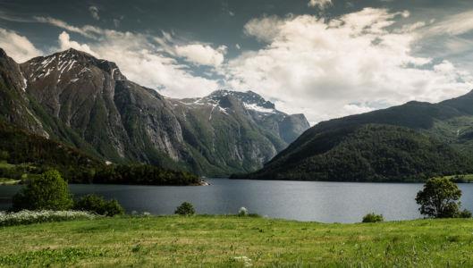 Øverås, Åndalsnes, Møre og Romsdal Fylke, Norge