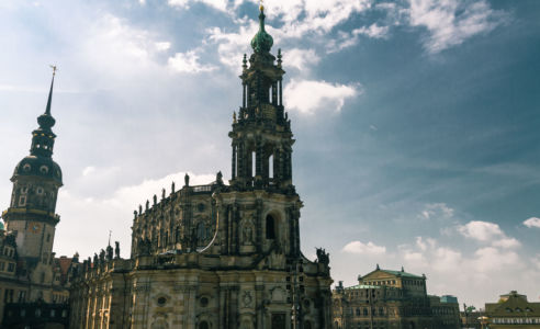Brühlsche Terrasse, Innere Altstadt, Dresden, Sachsen, Deutschland