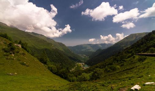 Gouaux-de-Larboust, La Mongie, Hautes-Pyrénées, France