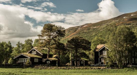 Aune, Oppdal, Sor-Trondelag, Norwegen
