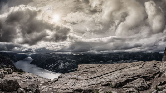 Fossmork, Jørpeland, Rogaland Fylke, Norge