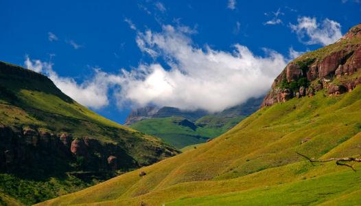 Makhwelela, Cathedral Peak, Kwazulu-Natal, Südafrika
