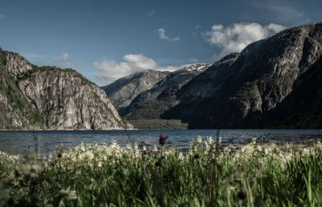 RV7, Øvre Eidfjord, Hordaland Fylke, Norge