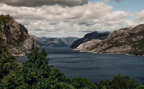 RV13, Forsand, Rogaland Fylke, Norge