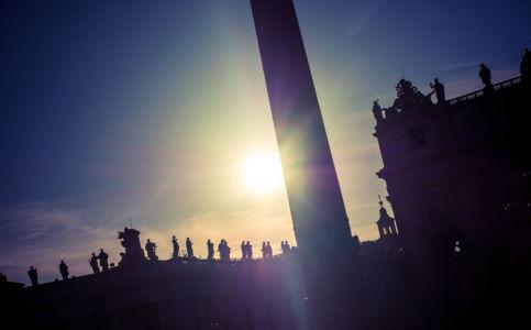 Largo del Colonnato, Borgo, Roma, Lazio, Vatican
