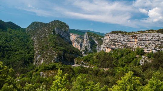 D 952, La Palud, Alpes-de-Haute-Provence, France
