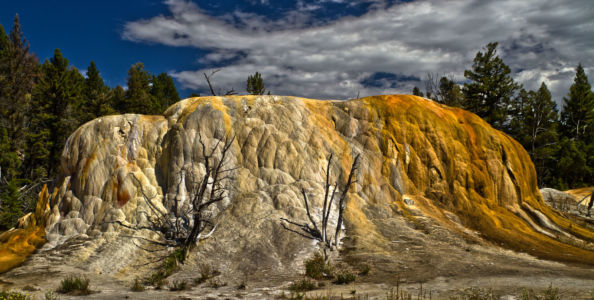 Mammoth, Yellowstone National Park, Wyoming, Vereinigte Staaten