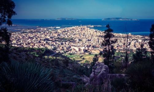 Erice Mare, Trapani, Sicilia, Italia