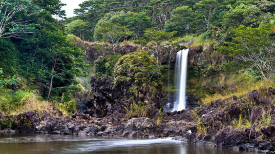 Peepee Falls Rd, Pi'ihonua, Hawaii, United States