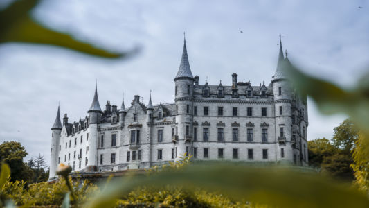 Dunrobin Castle, Sutherland, Backies, Scotland