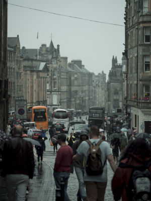Edinburgh, Queen Street, Scotland 6