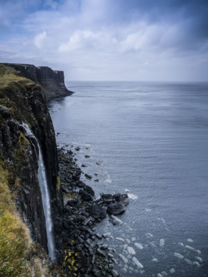 Kilt Rock Waterfall, Culnacnoc, Staffin, Scotland