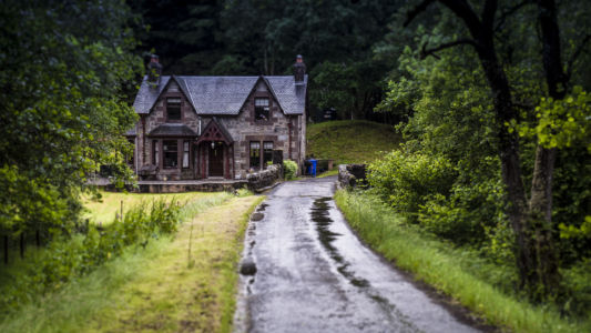 Old House, Strathyre, Scotland