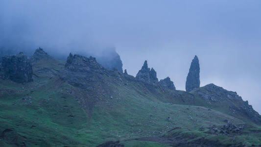 Old Man Of Storr, Carbost, Borve, Scotland