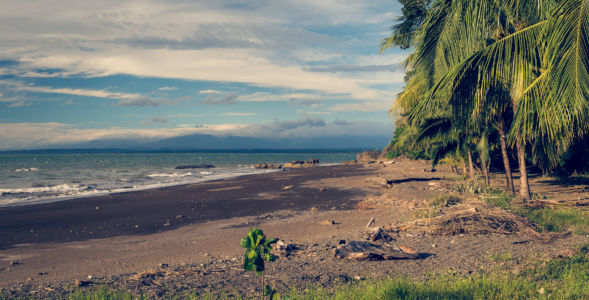 Playa Agujas, Agujas, Costa Rica, GPS (9,726667; -84,650833)