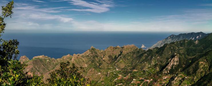 Azano, Almaciga, Canarias, Spanien