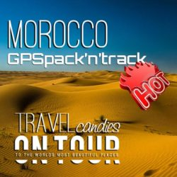 TRAVELcandies Morocco - GPSpack'n'track, Product Image