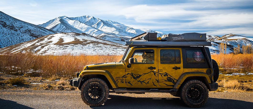 JEEP Rooftop Tent Gordigear & TRAVELcandies On Tour - Jeep Wrangler JK - Rooftop-Tent u0026 Diesel ...