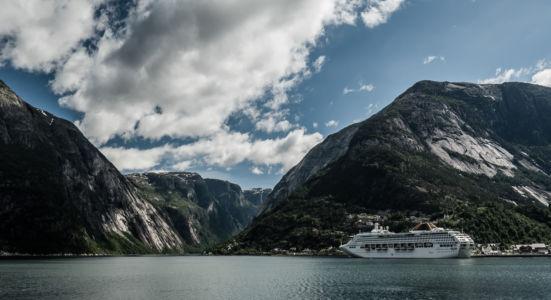 RV7, Eidfjord, Hordaland Fylke, Norge