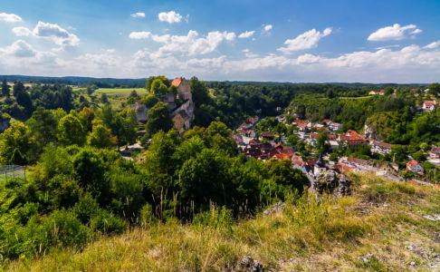 Finkenleite, Pottenstein, Bayern, Deutschland