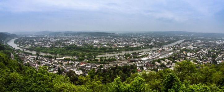 Himmelsleiter, Trier-West, Trier, Rheinland-Pfalz, Deutschland
