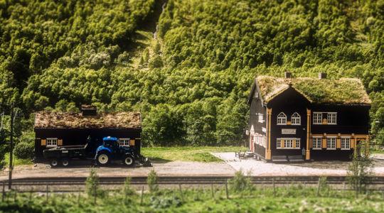 E6, Oppdal, Sør-Trøndelag Fylke, Norge