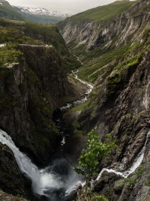 Garden, Øvre Eidfjord, Hordaland Fylke, Norge
