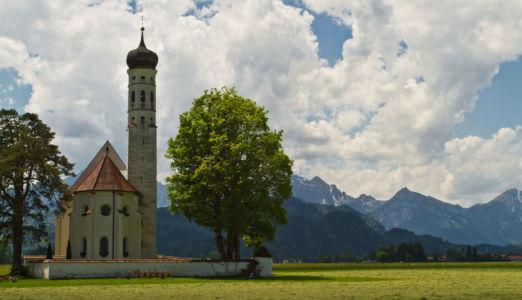 Mühlberg, Schwangau, Bayern, Deutschland