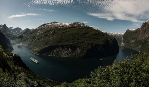 Ørnevegen, Homlong, Møre og Romsdal Fylke, Norge