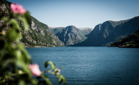 E16, Flåm (Fretheim), Sogn og Fjordane Fylke, Norge