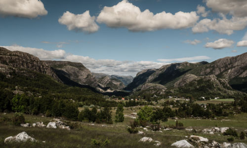 Gilja, Forsand, Rogaland Fylke, Norge