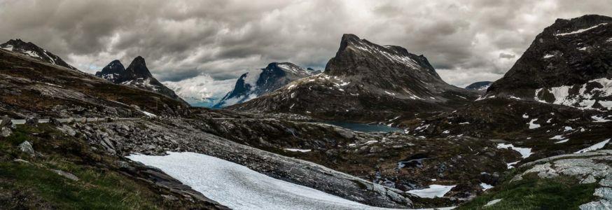 Trollstigvegen, Åndalsnes, Møre og Romsdal Fylke, Norge