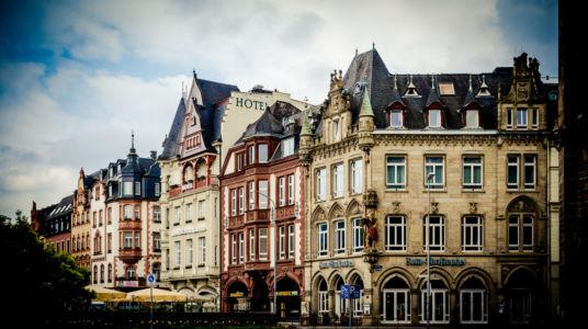 Nordallee, Trier, Rheinland-Pfalz, Deutschland