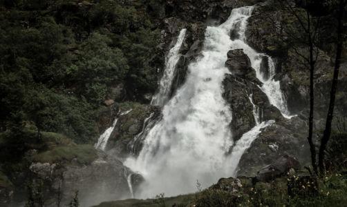 Briksdalsbre, Briksdalen, Sogn og Fjordane Fylke, Norge