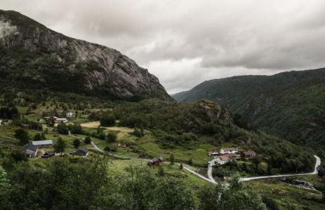 Fv632, Sand, Rogaland Fylke, Norge